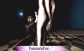 Goddess Lulu and teen Futa Slave