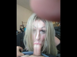 oral sex ending with jizz in throat