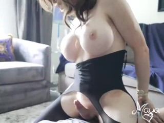 poked Arab ladyboy Maya and sperm swallowing