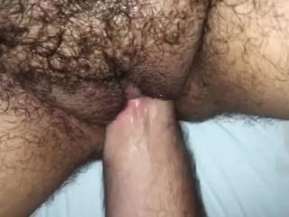 Daddy fills ftm vagina