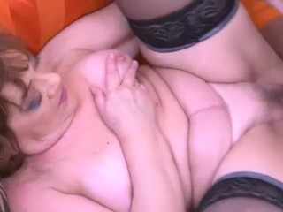 older woman & stepson try sex