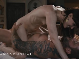 TransSensual - charming Natalie Mars Gets A Massage And Her behind slammed By Colby Jansen