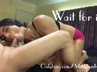 dirty hispanic ladyboy Sissy tranny Accidentally Double Books 2 Clients (OnlyFans Preview)