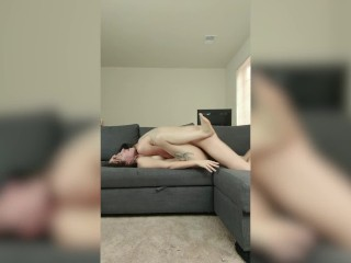 shemale on woman Real Rough Sex Compilation - Trans Lesbian Amateur couple BDSM naughty Fucking