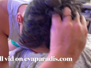 Eva Paradis waited for the bf to turn 18 and took his virginity