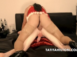 TATITAHILTON FUCKING A TWINKY LITTLE 18 YEAR old FOR THE FIRST TIME