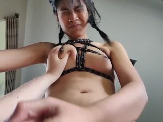 Trans lady Facefucks girl