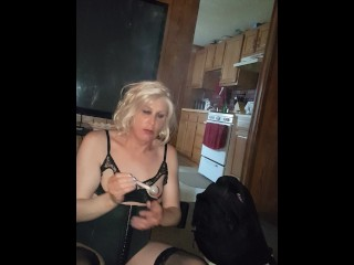 Trans whore being transformed into a meth skank (me) PNP