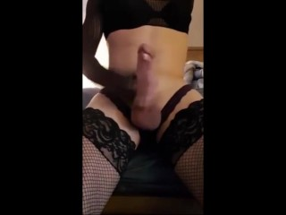 skinny sissy ass and masturbation