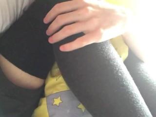 stroking my knees/ 2 .